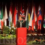Выступление Стива Джонса - президента Мировой Федерации розоводов