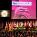 Официальное открытие Конгресса Роз в Лионе, Франция