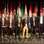 Представители крупнейших компаний-селекционеров во Франции на официальном открытии Конгресса Роз в Лионе