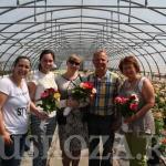 Представители Российского объединения розоводов посетили питомник Ducher