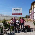 Представители Российского объединения профессионалов и любителей роз посетили питомник Meilland во Франции